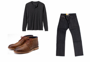 Chukka Outfit Grid