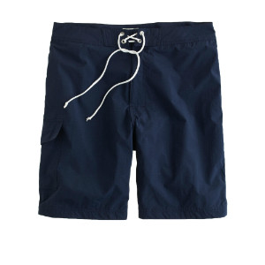 navy blue board shorts